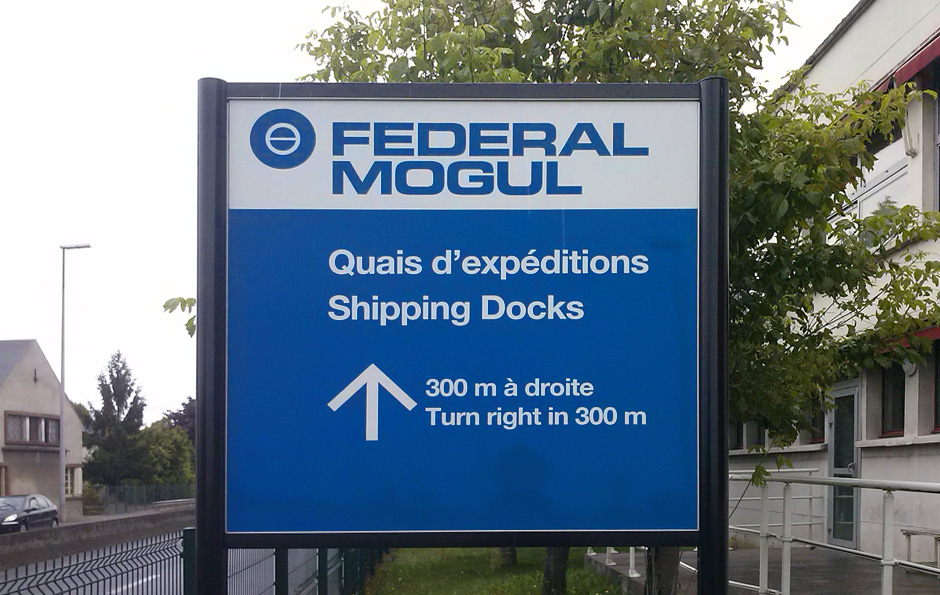 federal-mogul-sign